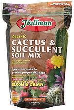 Hoffman Garden Soil 10404 Organic Cactus and Succulent Soil Mix, 4 Quarts