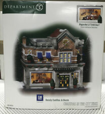 Dept 56 56-59235 Hensly Cadillac & Buick Christmas In The City