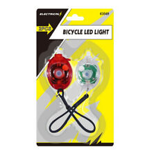 Safety Bike LED Lights Front light and Tail Light LED functions New UK