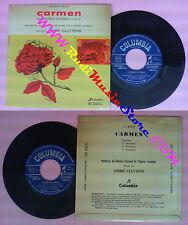LP 45 7'' ORCHESTRE DU THEATRE NATIONAL DE L'OPERA COMIQUE Carmen no cd mc vhs