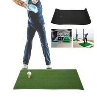 golf Hitting Mats Indoor Golf Swing Practice Grass Mats with Rubber Golfing Tee