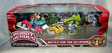 TRANSFORMERS ROBOT HEROES REVENGE OF THE FALLEN BATTLE FOR THE ALLSPARK SET