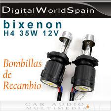 2 BOMBILLAS BIXENON COCHE H4 35W 12V 4300K 6000K 8000K CON CABLEADO