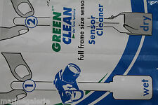 Nettoyage capteur Lot 6x liquide + chiffon photo 24x36 fabr. Europe stock France