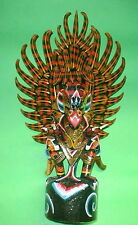 """Bali Handmade wood GARUDA carving from Indonesia Red or Black UNIQUE 24"""" heigh"""