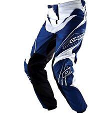 Pantalon Pants ONEAL Element Bleu Blanc Taille 30US  38Fr  Ref 0190-030