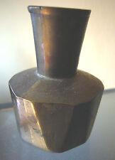 Kleine massive Messing Vase eckiges Modell *Vintage*Shabby*vielseitig