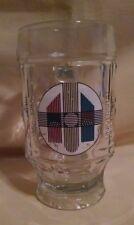 UNIVERSITAT HEIDELBERG STEIN 1986 GLASS MUG SAHM 600 JAHRE ANNIV 1386 GERMANY.