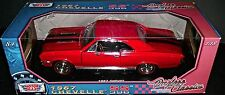 1967 CHEVELLE SS 396 1:18 SCALE DIECAST METAL MOTORMAX AMERICAN MUSCLE CLASSIC