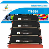 4PK Toner Compatible with Brother TN580 HL-5240 5200 5250DN DCP-8060 MFC-8460N