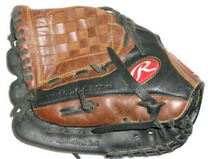 Rawlings Premium Series D1150PT 11.5 Inch Leather Shell Left Hand Thrower Glove