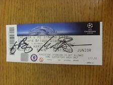04/11/2015 Autographed Ticket: Chelsea v Dynamo Kyiv [Champions League] - Hand S