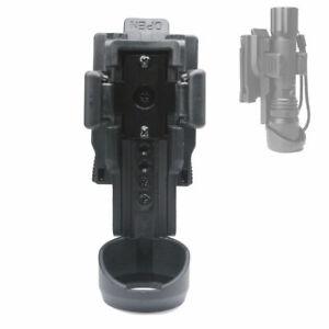 AMSUER ASH03 360° Rotatable Tactical Flashlight Holster (tube diameter:22-30mm)