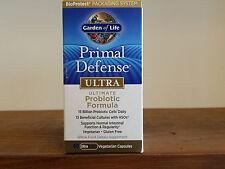 Garden of Life Primal Defense Ultra 60 Capsules Ultimate Probiotic 13 Strains