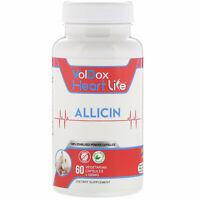 HeartLife, Allicin, 500 mg, 60 Vegetarian Capsules