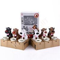 Choken Bako Cute Dog Puppy Robotic Coin Money Bank Saving Box Funny Kid Gift
