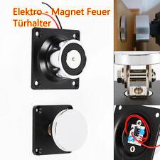 12V Elektromagnetische Türabsaugung Türstopper Türpuffer 70 kg Lineare Spannung