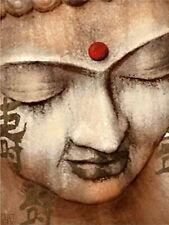 Full Drill Diamond Painting Buddha Head Religion Cross Stitch Embroidery N8509
