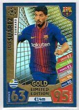 Luis Suárez Match Attax Game Football Trading Cards
