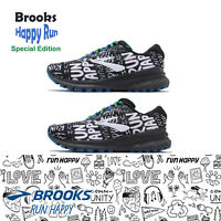 Brooks Adrenaline GTS 20 Happy Run Black White Men Women Running Shoes Pick 1