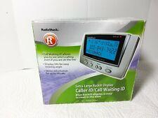 Radio Shack Advanced Caller Id Box Call Waiting Display 43-3903 Desk or Wall