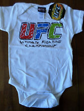 6 motnh UFC Crayon Toddler Creeper/Bodysuit New with Tags