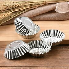 10pcs DIY Eierkuchen Backen Cupcake Kuchen Cookie Puddingform Werkzeug