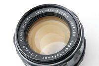 🌟N-Mint🌟 8elements Asahi Pentax Super Takumar 50mm F1.4 M42 MF Lens from Japan