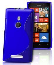 pour votre Nokia Lumia 925, ce bel étui&coque souple de qualité silicone, Bleu