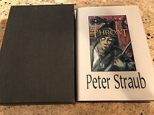 The Throat, by Peter Straub - 1993 - Signed, Limited Ed., H/C Book w/ Slipcase