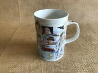 1 Coffee Mug Cup Dunoon 2000 The Millennium Fine Bone China England Collectible