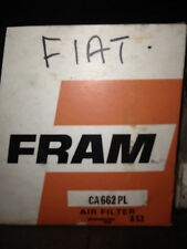 FRAM CA662PL A53 AIR FILTER NOS SUITS FIAT 1100/103,124/RENAULT R4
