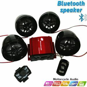 Golf Car Cart MP3/Bluetooth Player Speaker FM Radio AMP Stereo WRemote Control