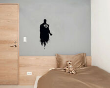 Justice League Superman Super Hero Bedroom Decal Wall Art Sticker Picture