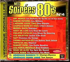 MES SOIREES 80'S N°4 - CD COMPILATION [2011]