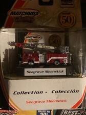 Fire Truck Ladder Seagrave Meanstick Code Matchbox 3
