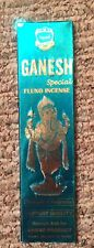 ANAND GANESH SPECIAL FLUXO INCENSE/25 Gm.=12 Sticks! BUY MORE & SAVE!!