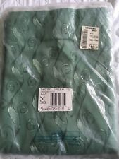 Green 90 x 72 curtains  New.