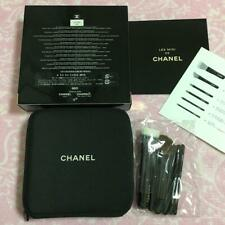 CHANEL Les Mini De Chanel Set makeup brushes bag pouch Holiday Novelty 2013 Coco