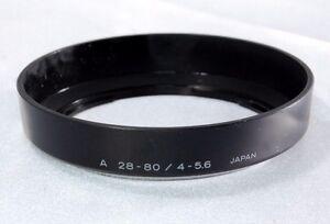 Used Genuine Minolta A 28-80mm 4-5.6 Lens Hood (2502037)