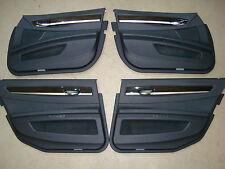 BMW F02 Pannello Porta Anteriore pelle Dakota Nero