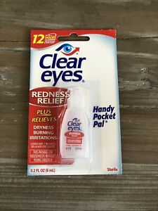 Clear Eyes Redness Relief - Nettoie Et Blanchit Les Yeux