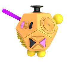 Fidget Cube 2018 Exclusive Latest Colours 12 Sided Version OBPY ADHD Toy