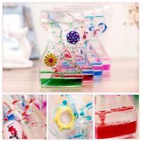 Autism Fun Classic Fidget Sensory Toy Liquid Oil Bubble Motion Timer