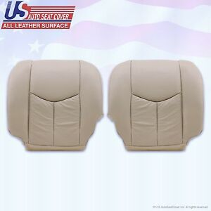 2003 - 06 Cadillac Escalade Driver & Passenger Upholstery replacement seat cover