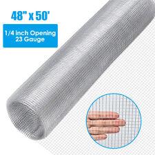 Hardware Cloth Galvanized Chicken Wire Welded Fence Mesh Roll 48