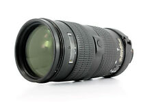 Nikon AF-S 80-200mm f/2.8D, Two Touch Lens
