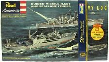 Revell G-333 Guided Missile Fleet Nautilus Currituck Boston - Riedizione 2006