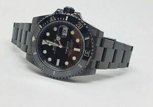 Rolex Submariner 116610LN Custom DLC/PVD