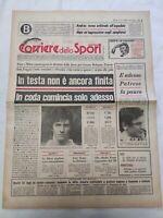CORRIERE DELLO SPORT 6-3-1978 JUVENTUS MILAN INTER TORINO VERONA PESCARA GENOA